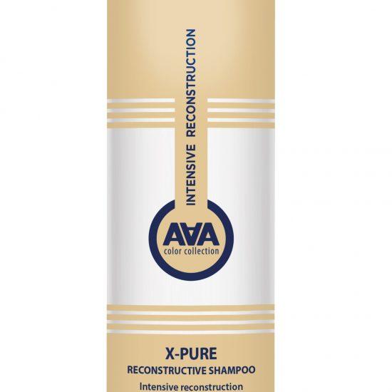 Kaaral Восстанавливающий шампунь для поврежденных волос с пшеничными протеинами X-PURE RECONSTRUCTIVE SHAMPOO, 250 мл